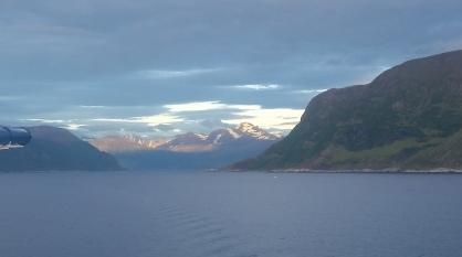 Um pouco antes de chegar aos Fiords de Gereinger
