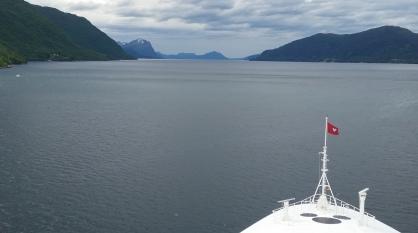 Mar da Noruega proximo a Gerainger